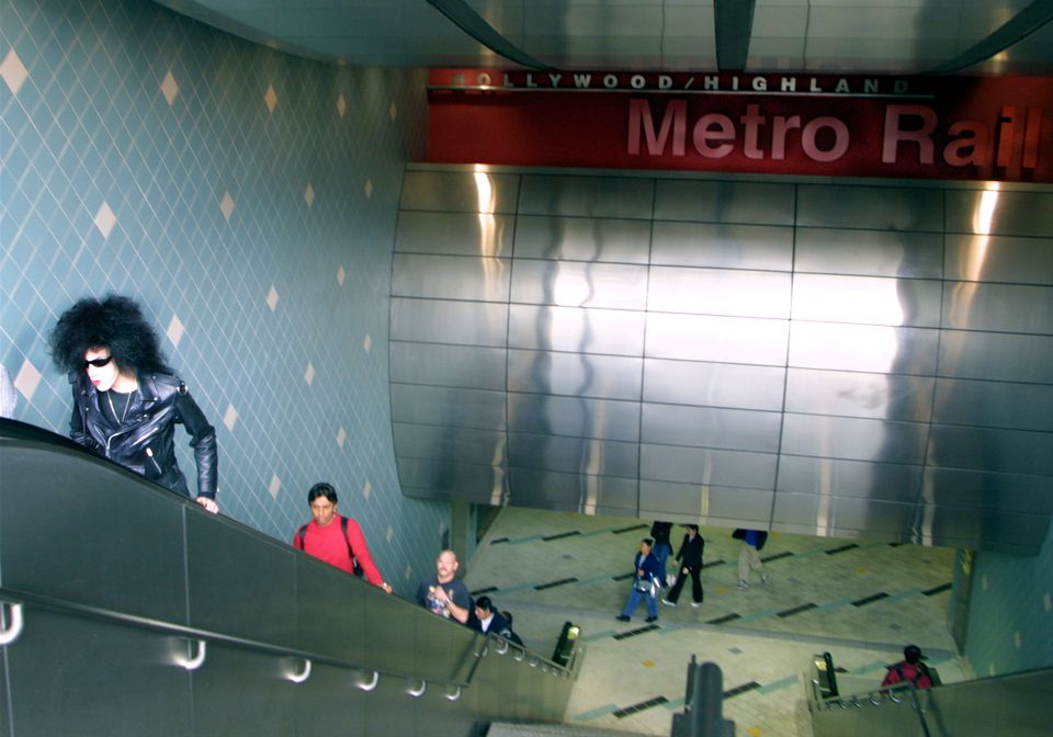 Hollywood and Highland Metro Station