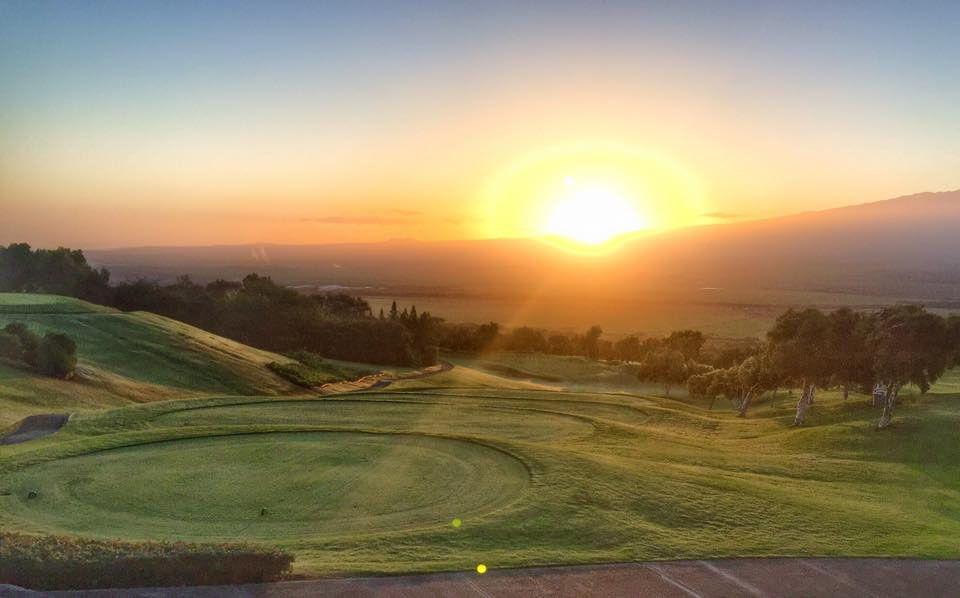 King Kamehameha Golf Club at sunrise