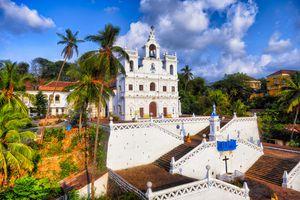 Panjim Church, Goa.