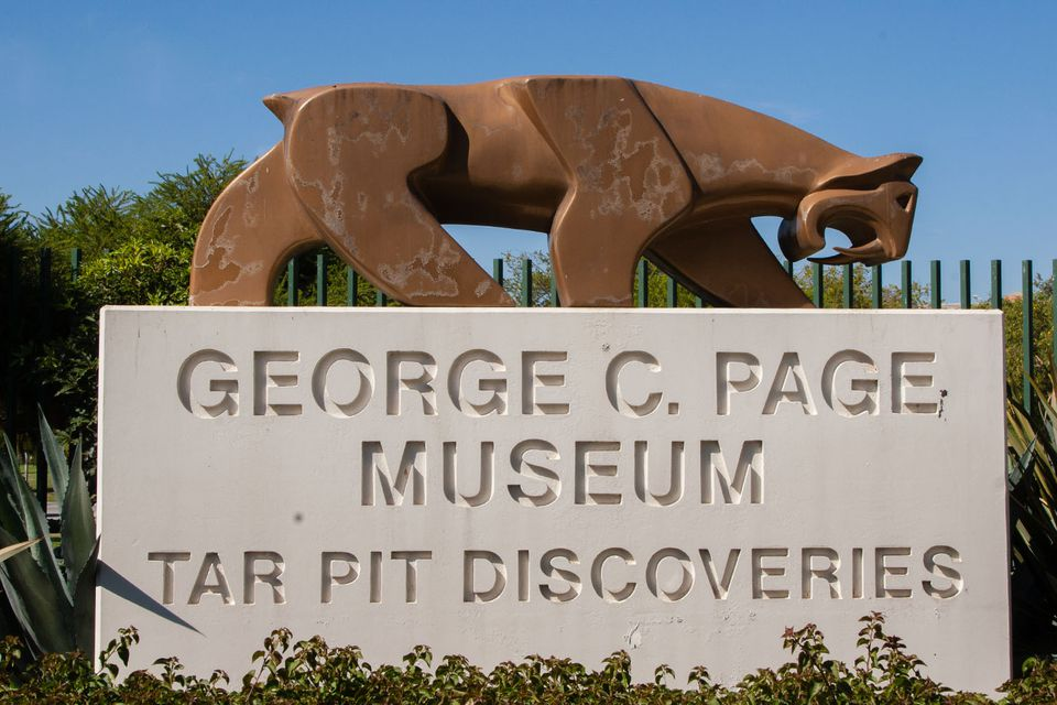 Page Museum at the La Brea Tar Pits
