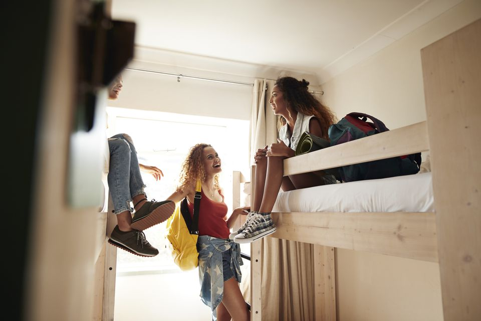 Women at a Youth Hostel