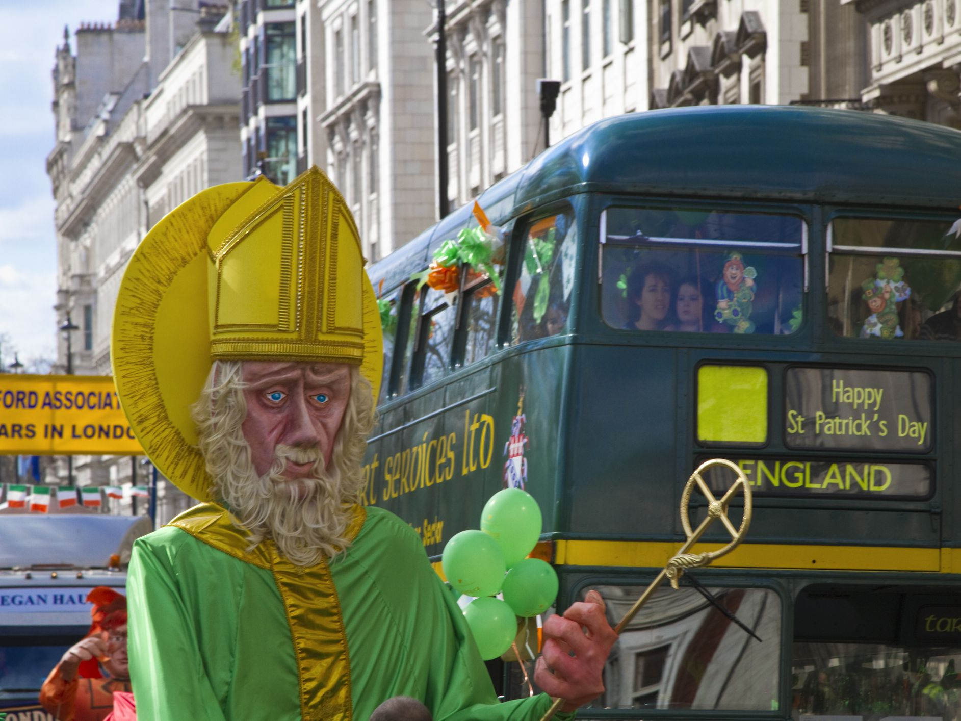 bacdabb47 St. Patrick's Day in the UK - Parades and Festivals