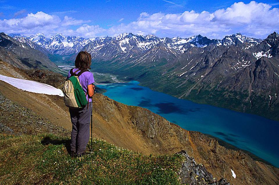 Twin Lakes Overlook, Lake Clark National Park & Preserve, Alaska
