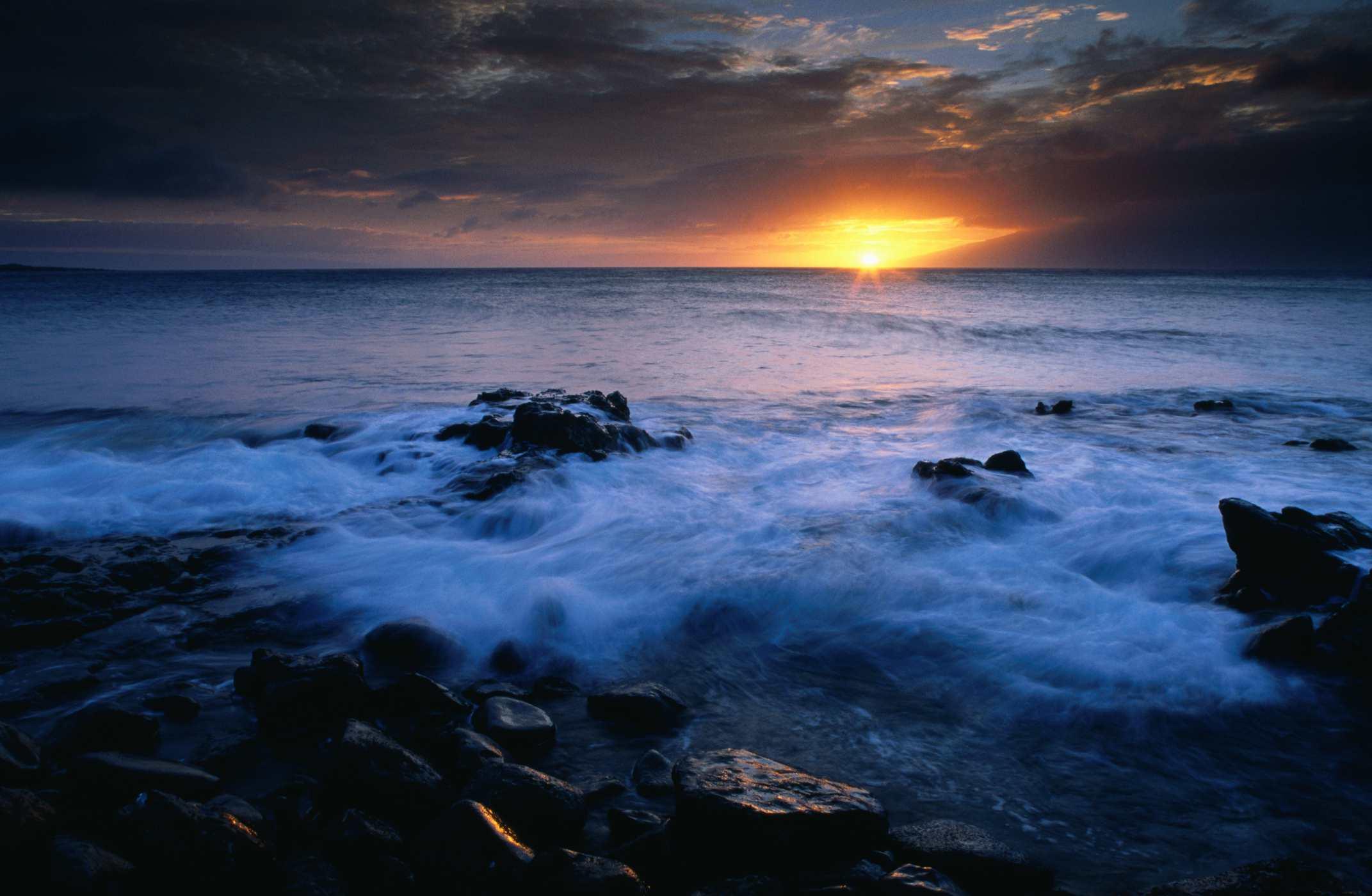 Lipoa Point in Hawaii.