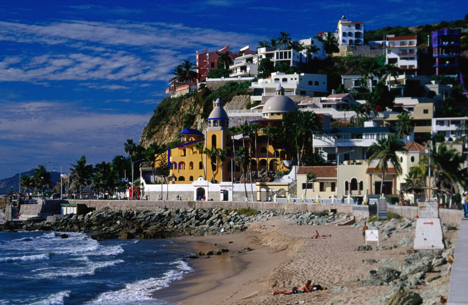 Olas Altas Beach in Mazatlán