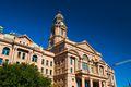 Tarrant County Courthouse against blue sky