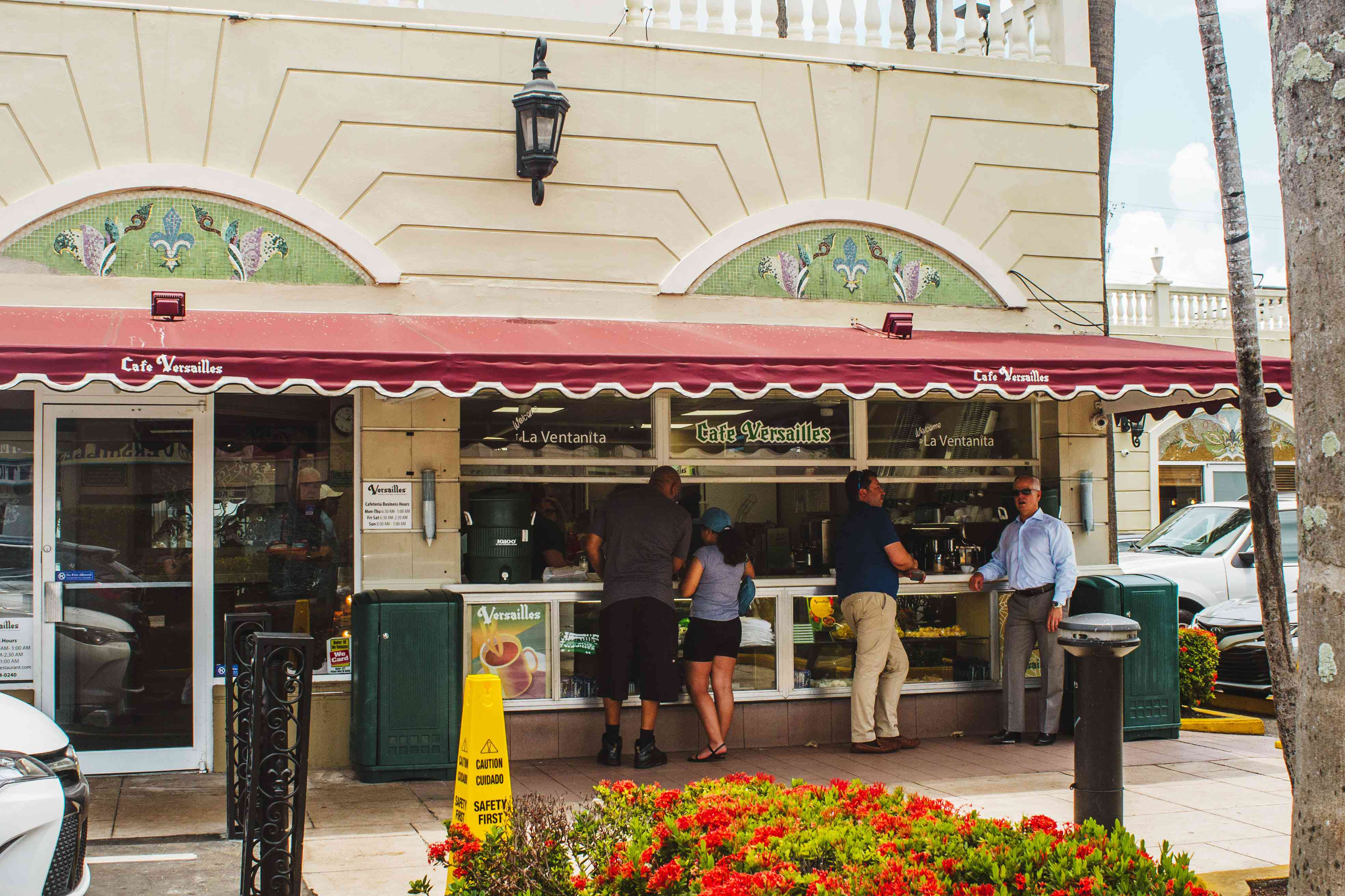 Versaille's to-go counter