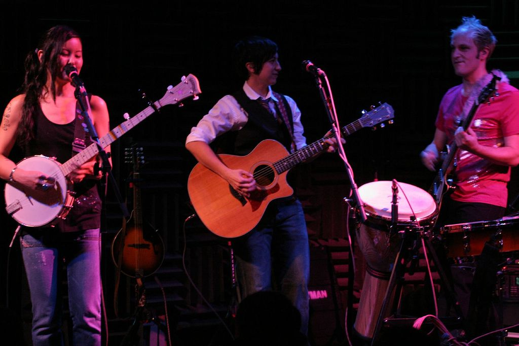 Performers at Joes Pub NYC