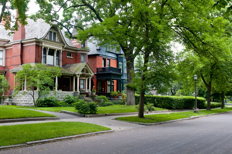 Summit Avenue in St. Paul, Minnesota