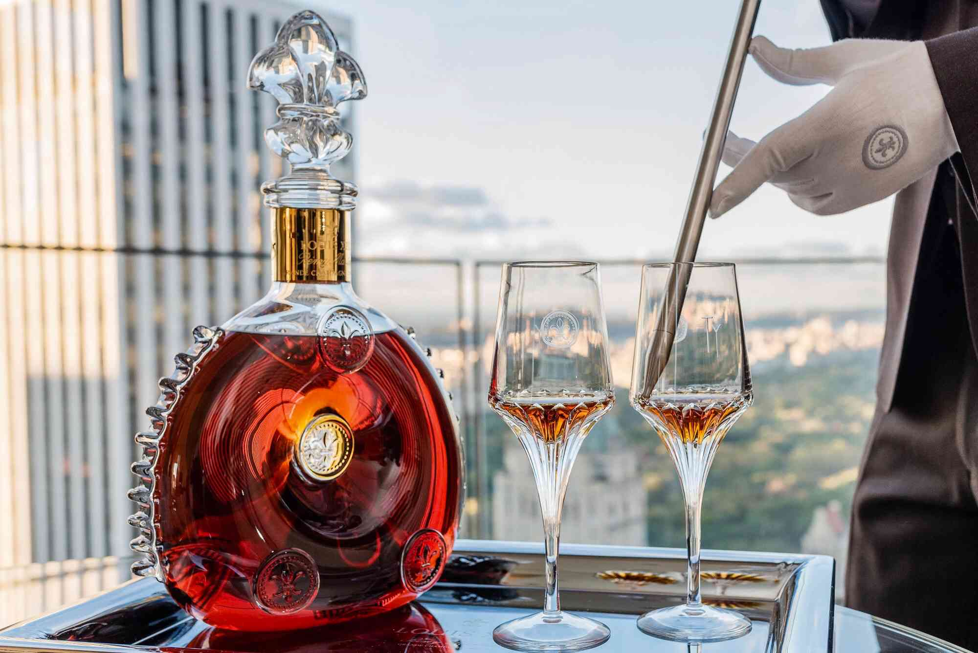Louis XIII Cognac Experience in the Ty Warner Penthouse Suite Four Seasons Hotel New York