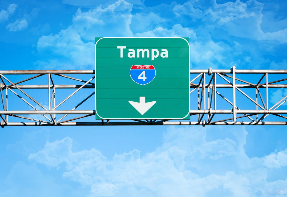 Tampa Interstate 4 Sign
