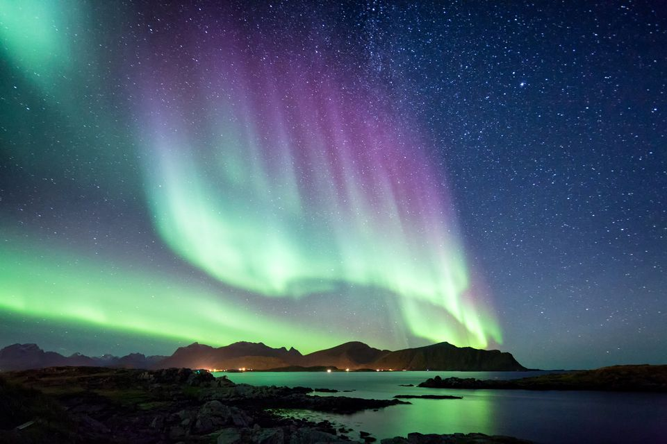 see the aurora borealis northern lights