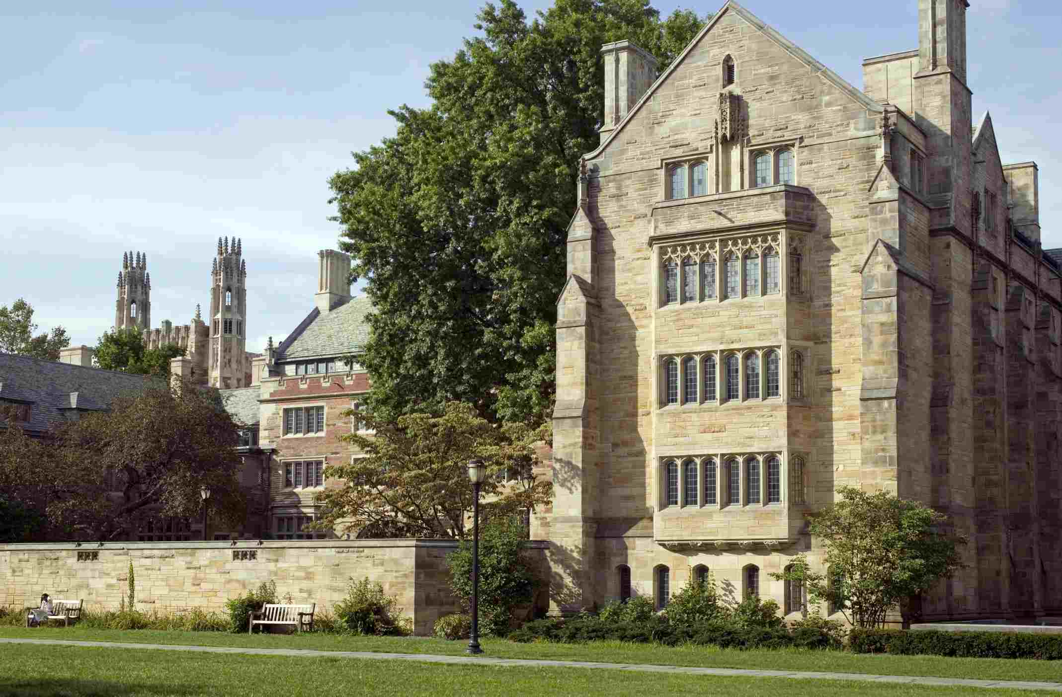 Building that is part of Yale University
