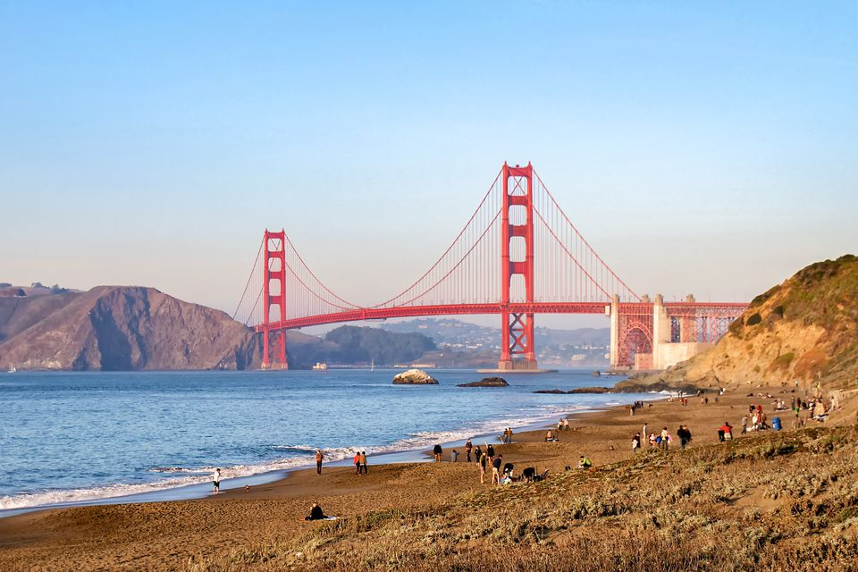 Visiting Baker Beach In San Francisco
