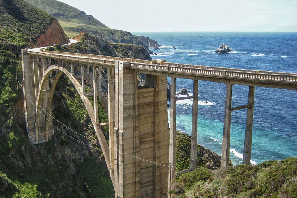 Bixby Bridge in Big Sur
