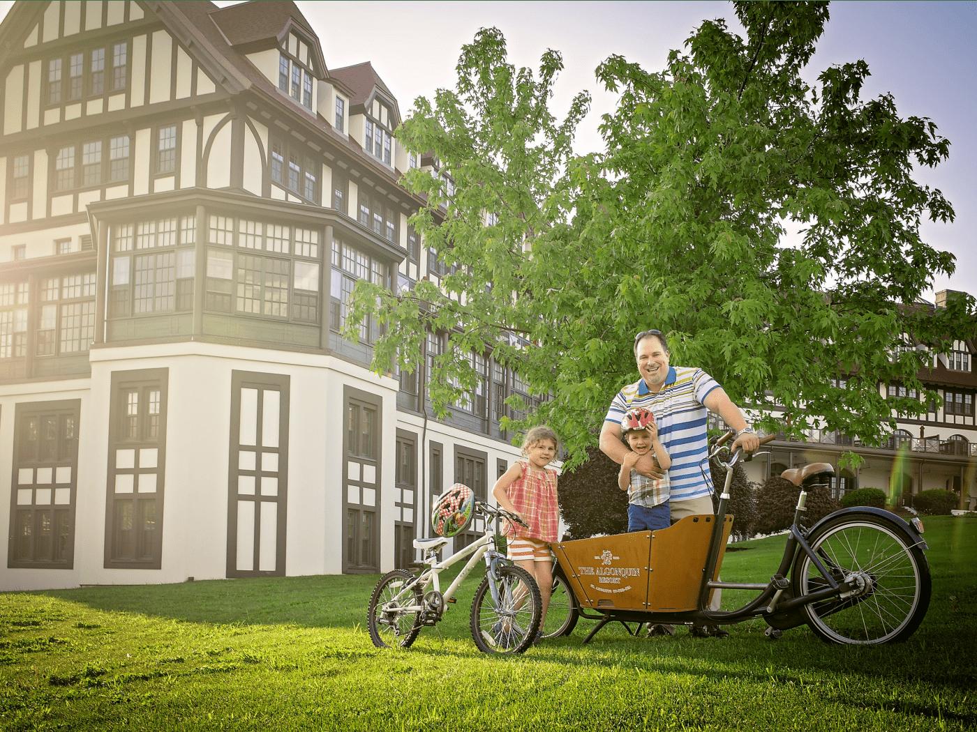 Algonquin Resort bike rentals
