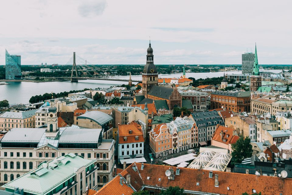 Skyline of Riga