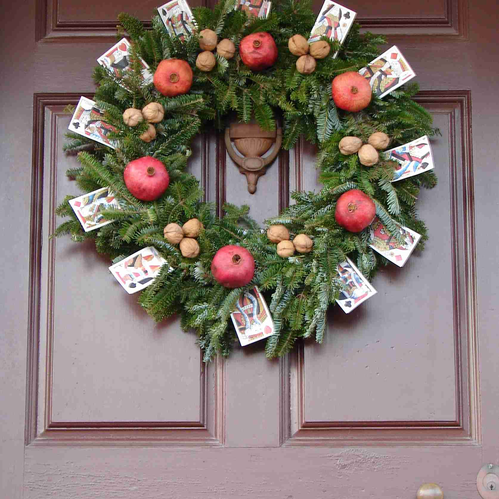Unique Christmas Wreath