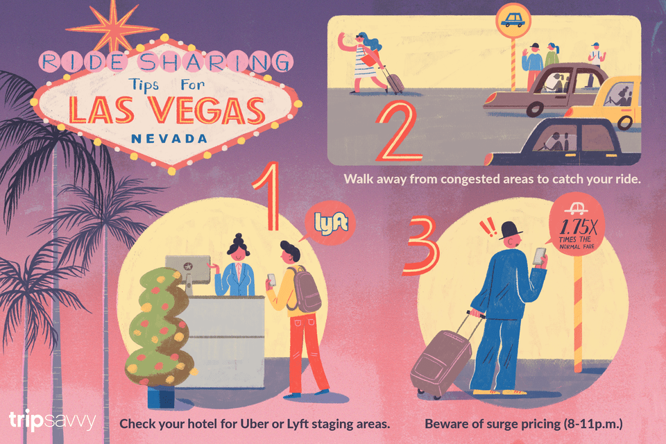 Paseo compartido en Las Vegas