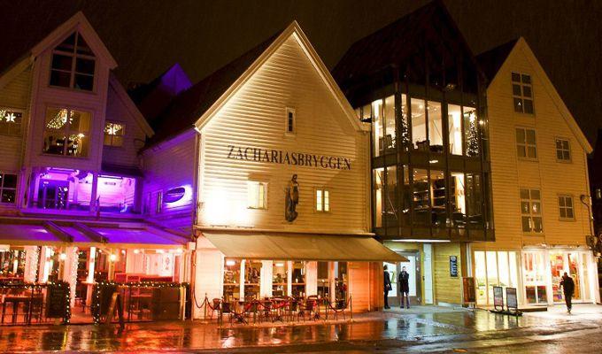 Zachariasbryggen Pianobar in Bergen