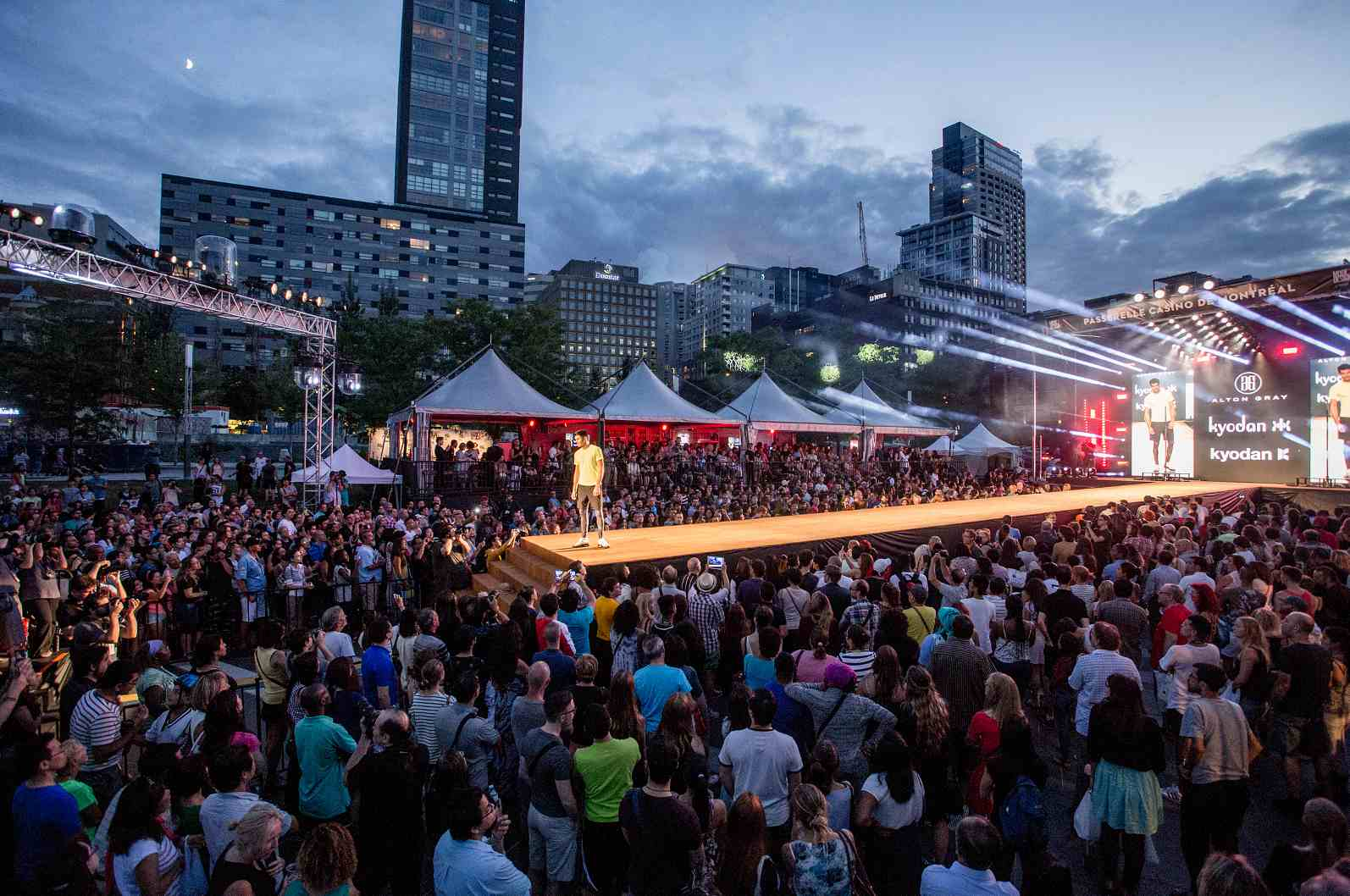 Montreal festivals in August 2016 include the Montreal Fashion and Design Festival.