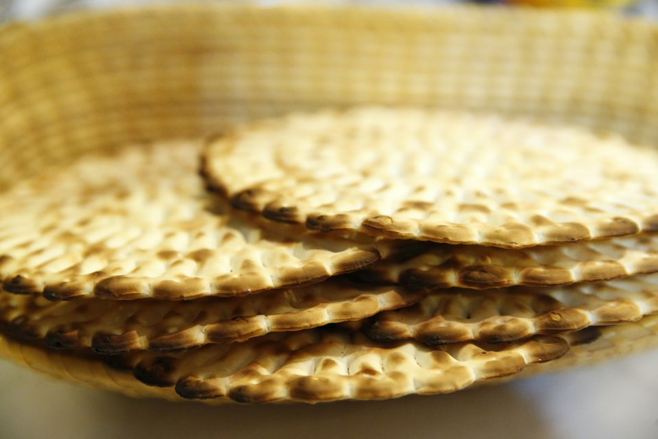 Matzoh crackers for passover
