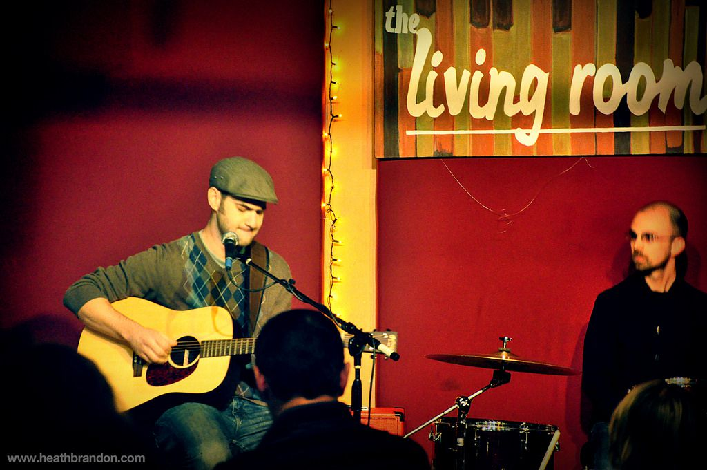 Performers at The Living Room NYC
