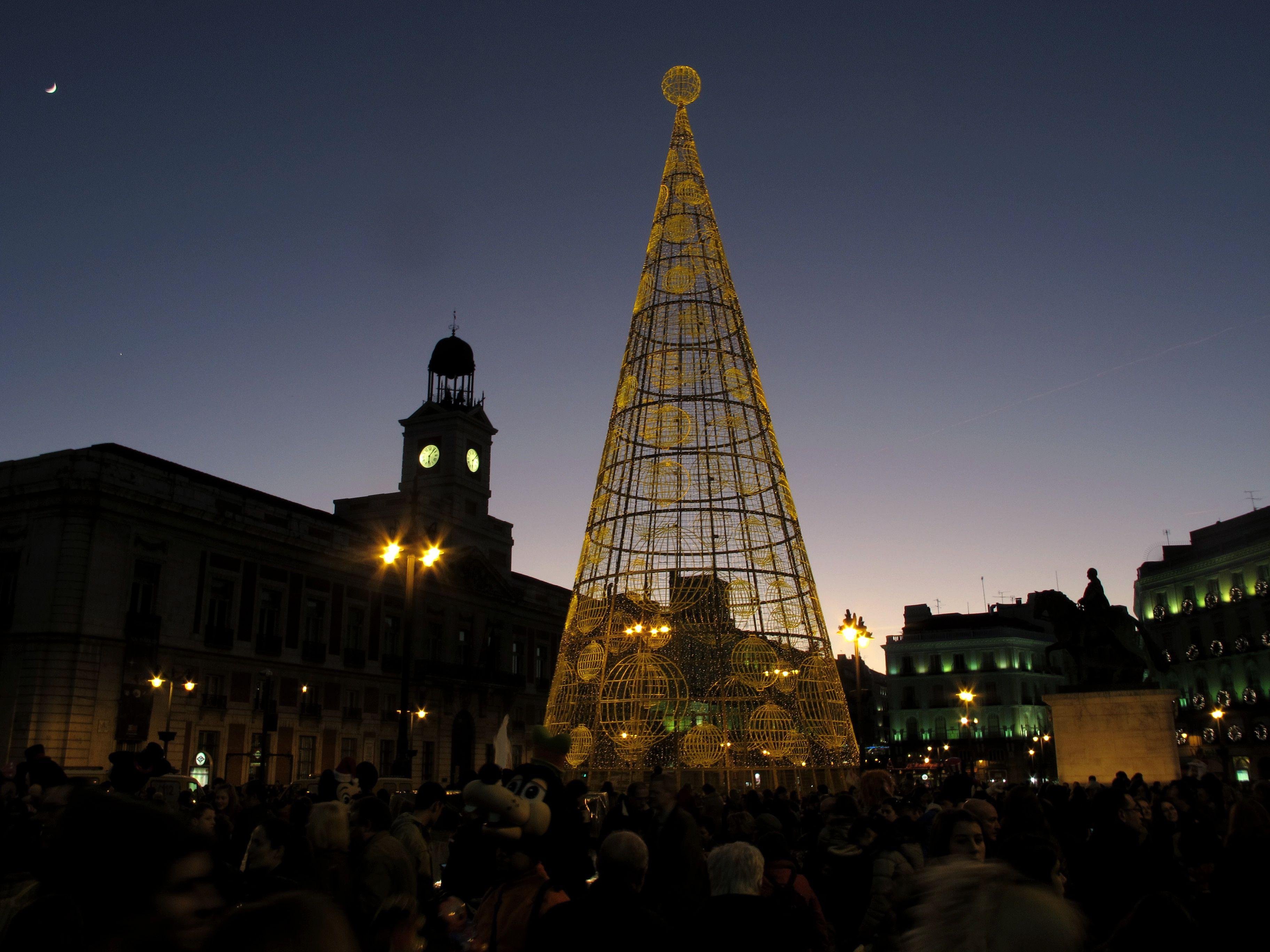 Celebrating Christmas in Madrid