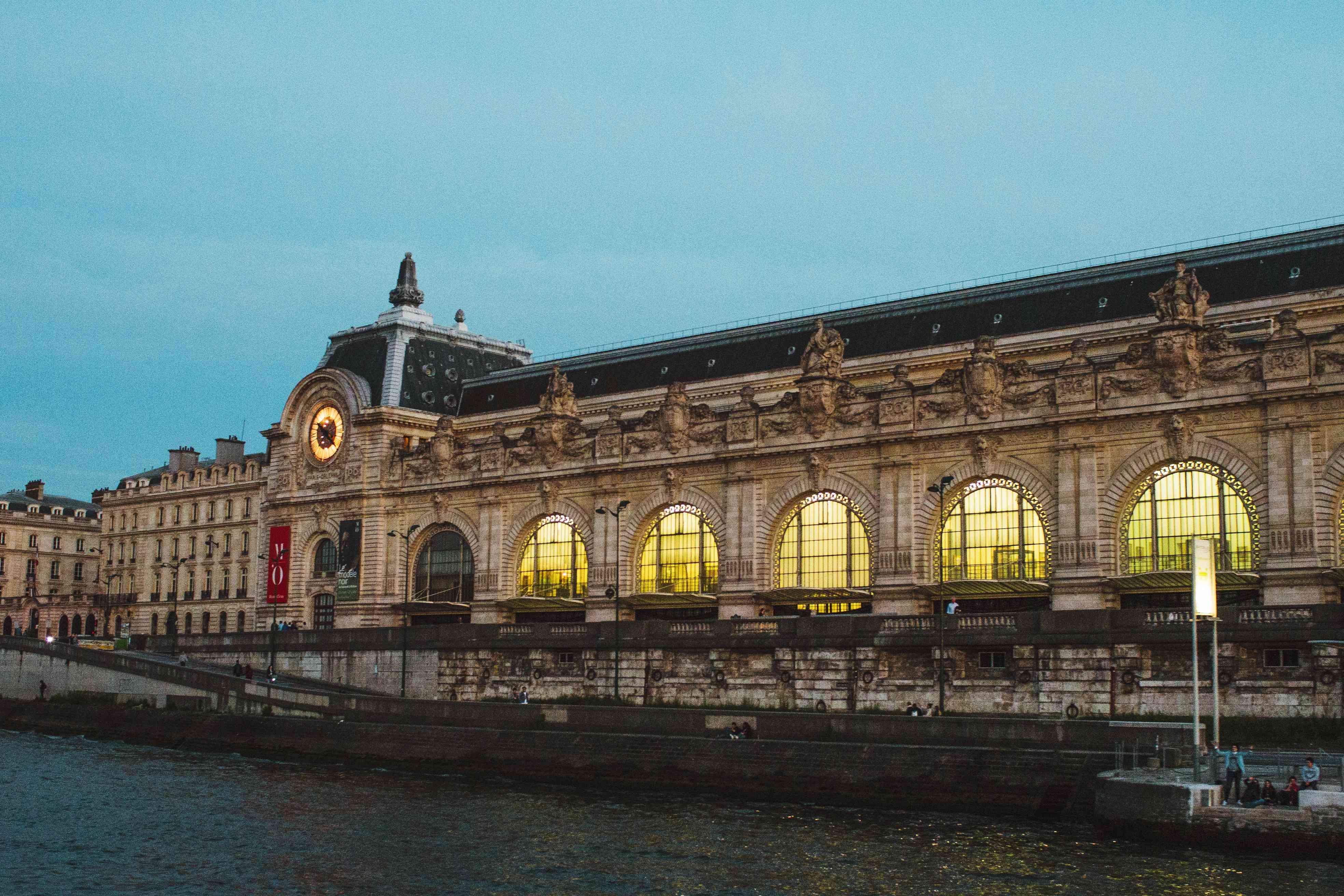 Exterior of Museum de Orsay
