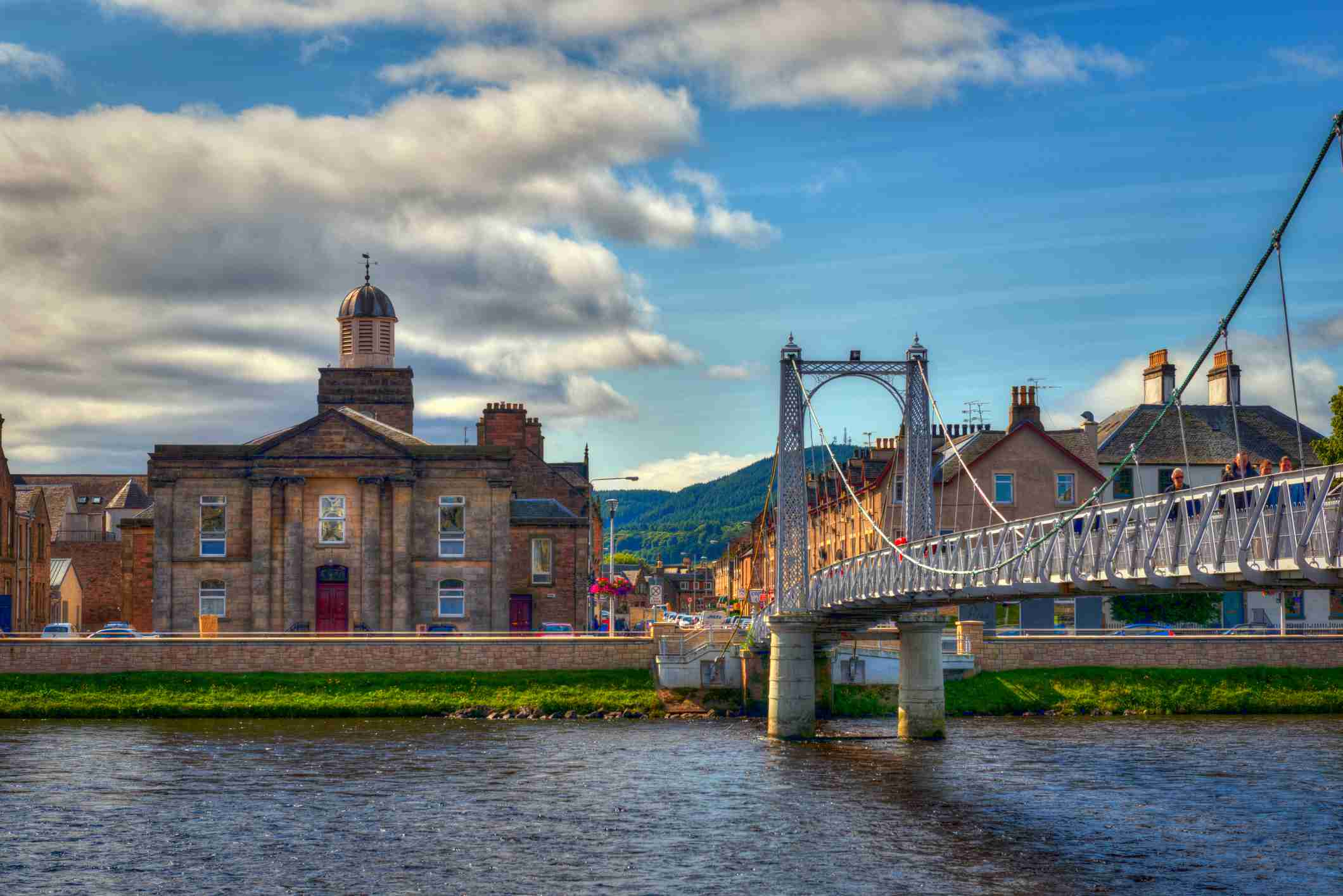 Greig Street Bridge, Inverness, Escocia