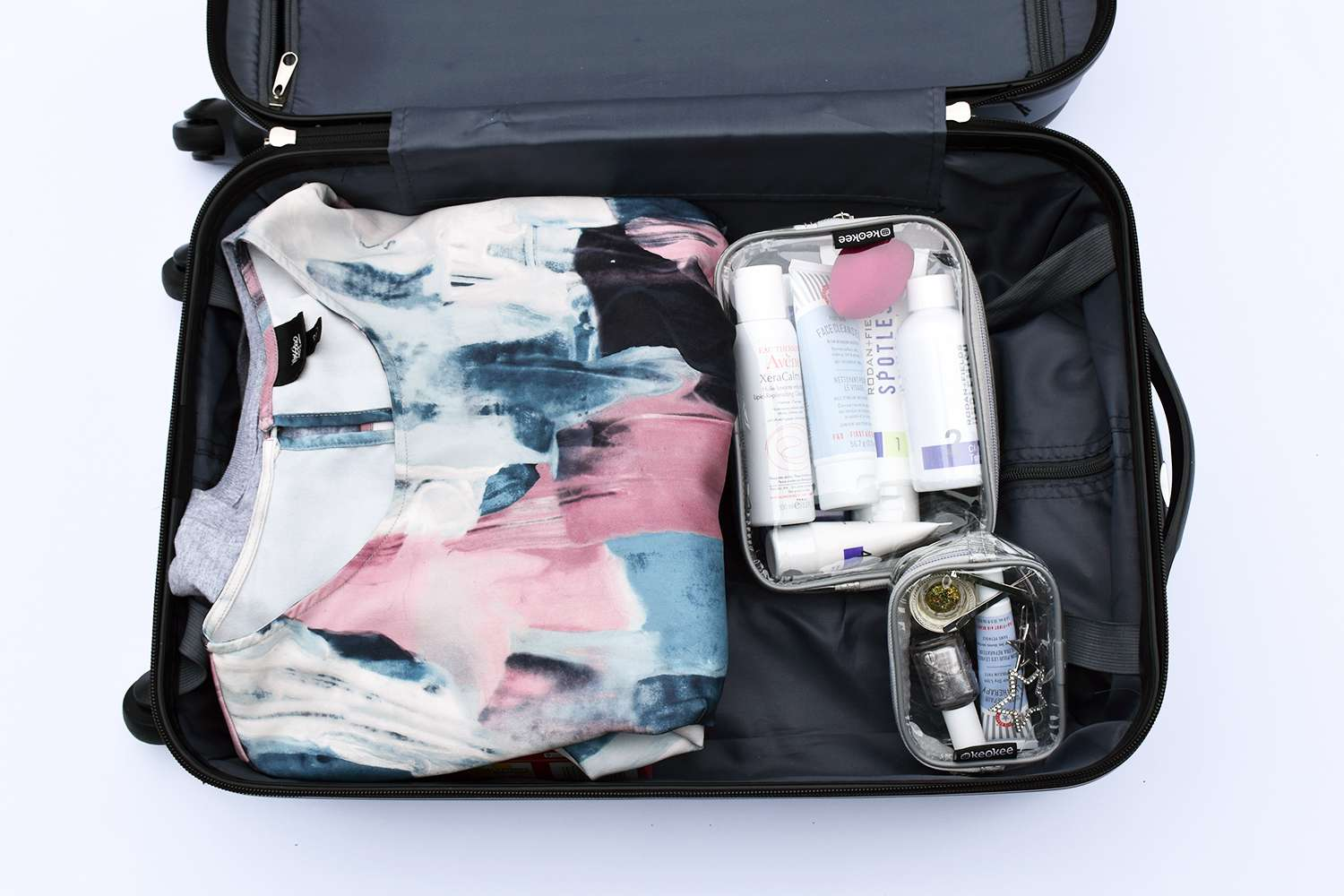 Keokee Clear Toiletry Bag Set Review Travel Friendly Organization