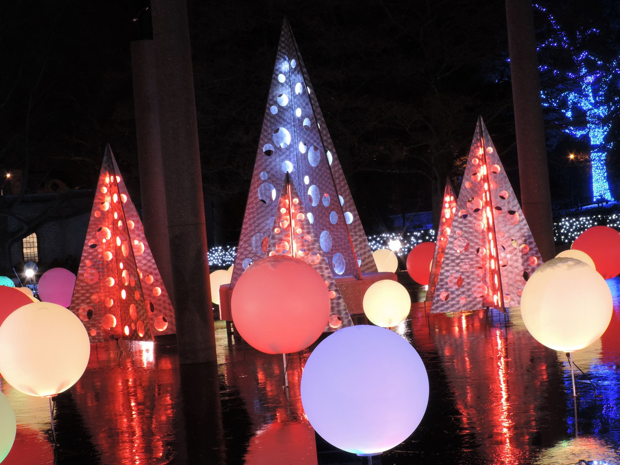 Garden Glow Holiday Lights at Missouri Botanical Garden