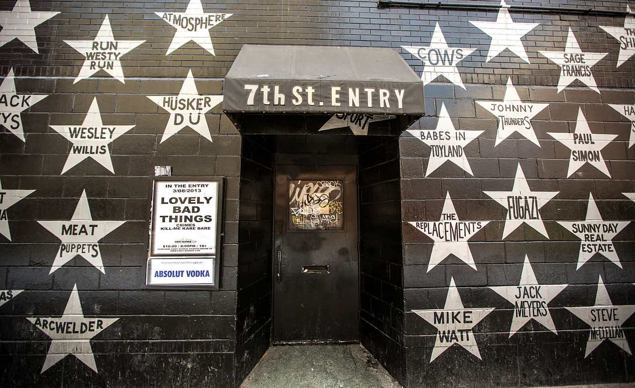 The 7th Street entry to First Avenue