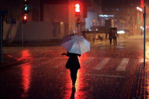 Heavy Rain in Shanghai