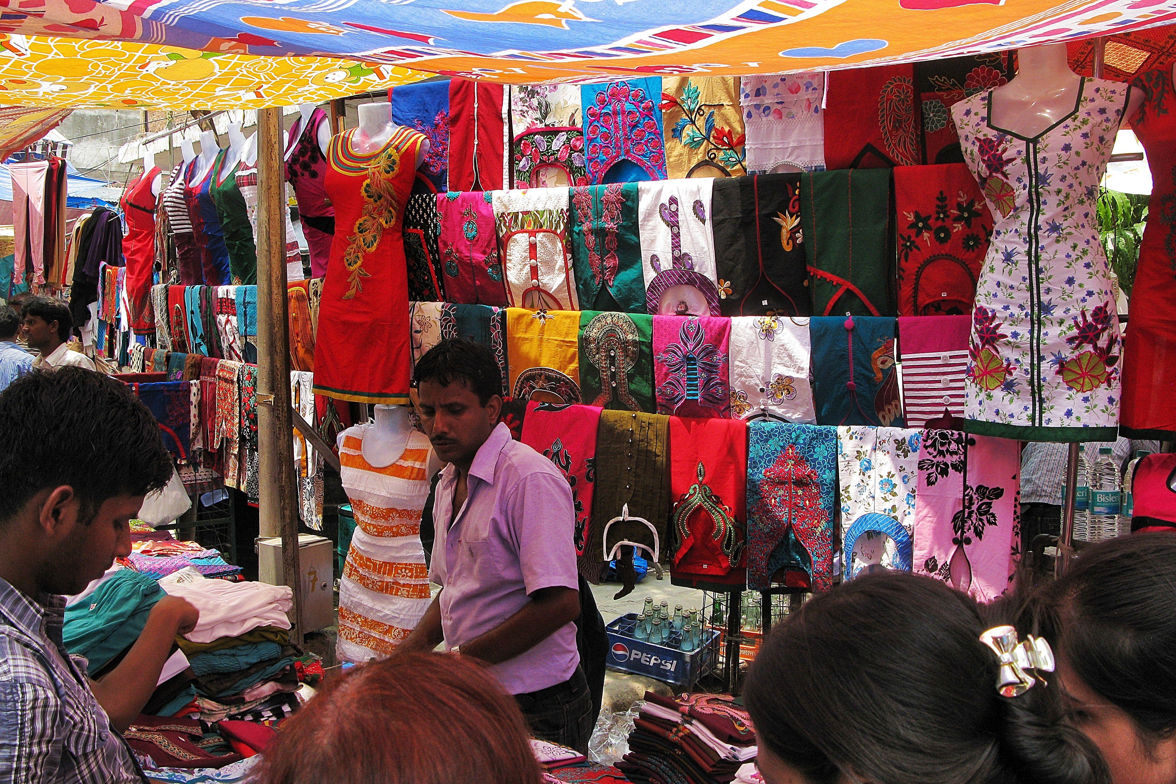 Lajpat Nagar (Mercado Central)