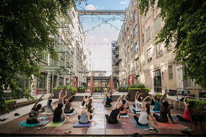 Yoga at Industry City