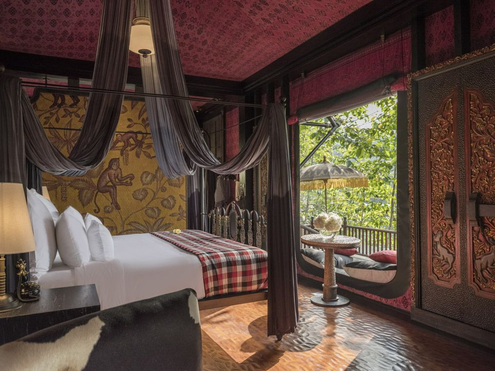 Capella Ubud room with view