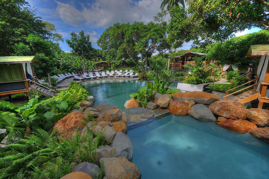 Loterie Farm pool