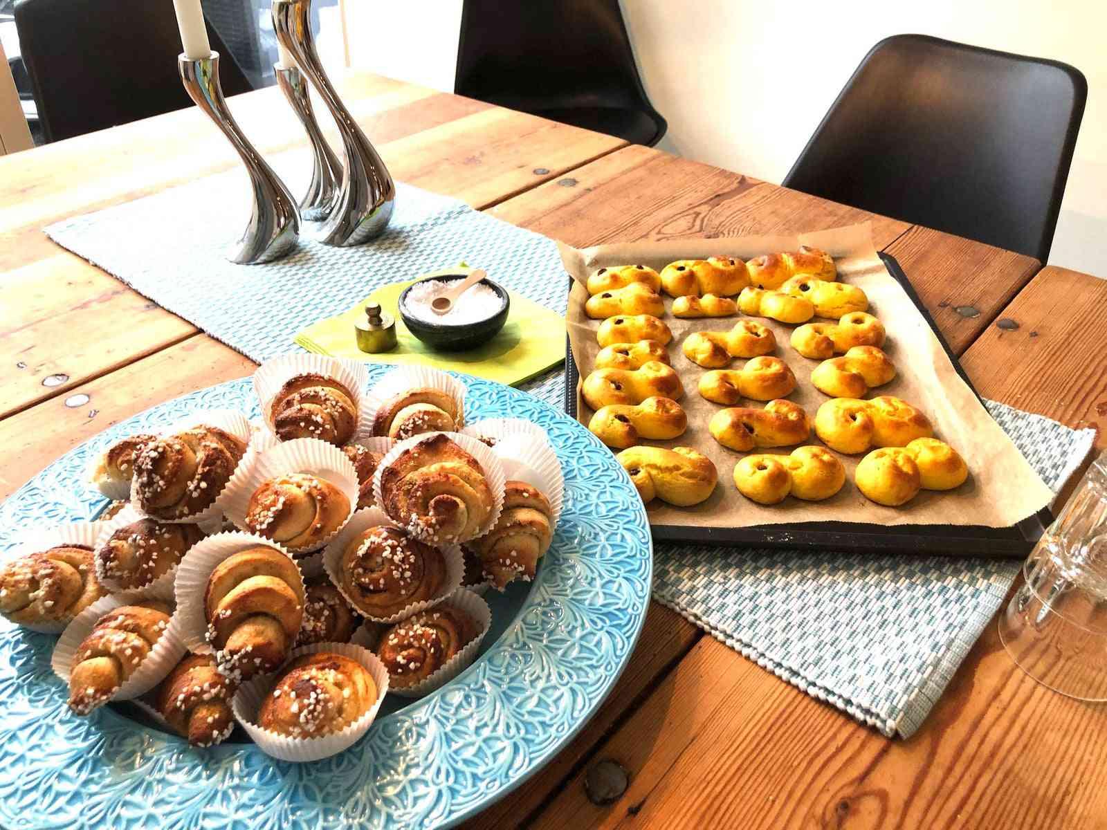 Swedish pastries