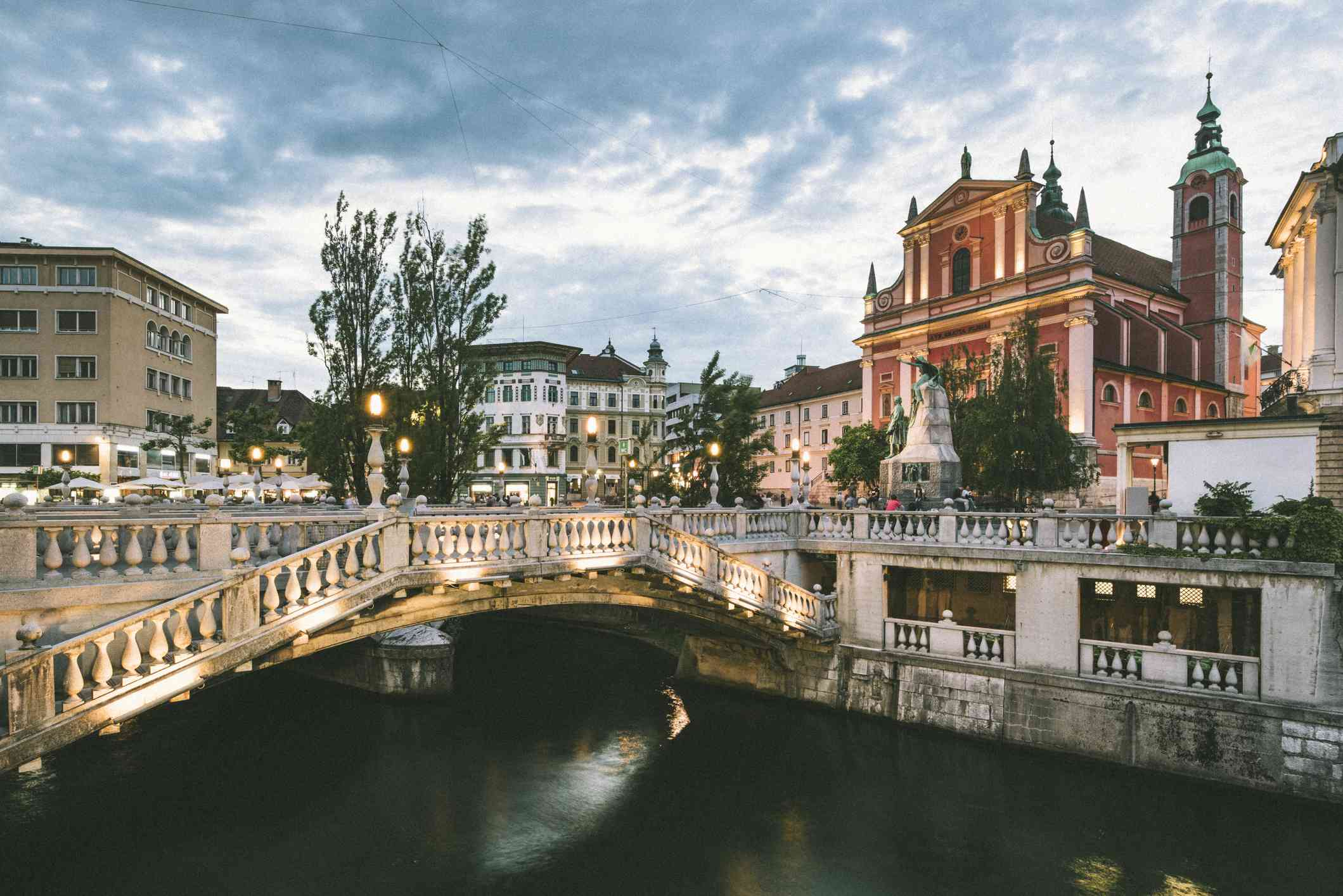 Ljubljana, Slovenia, East Europe