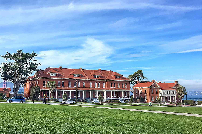 Old Barracks at the Presidio