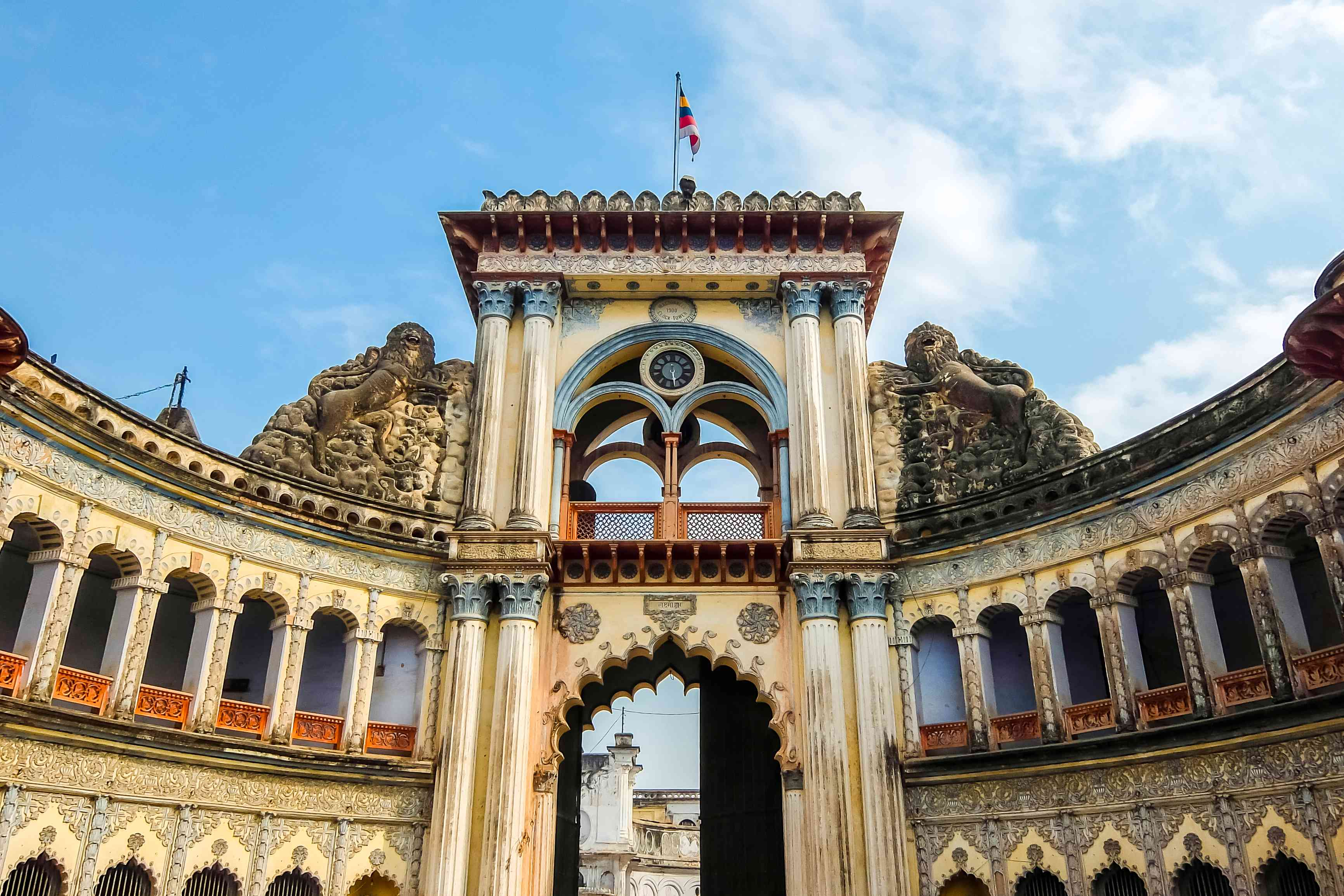 Arquitectura de Ayodhya, India.