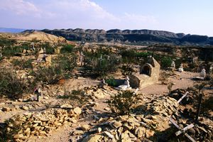 Cemetery in Terlingua