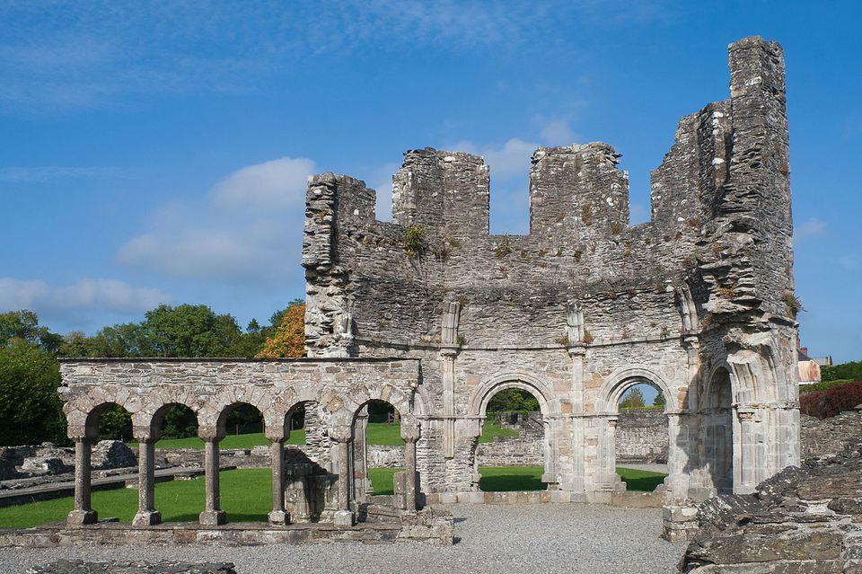 Abadía de Mellifont, Condado de Louth, Irlanda