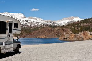 RVing by the water