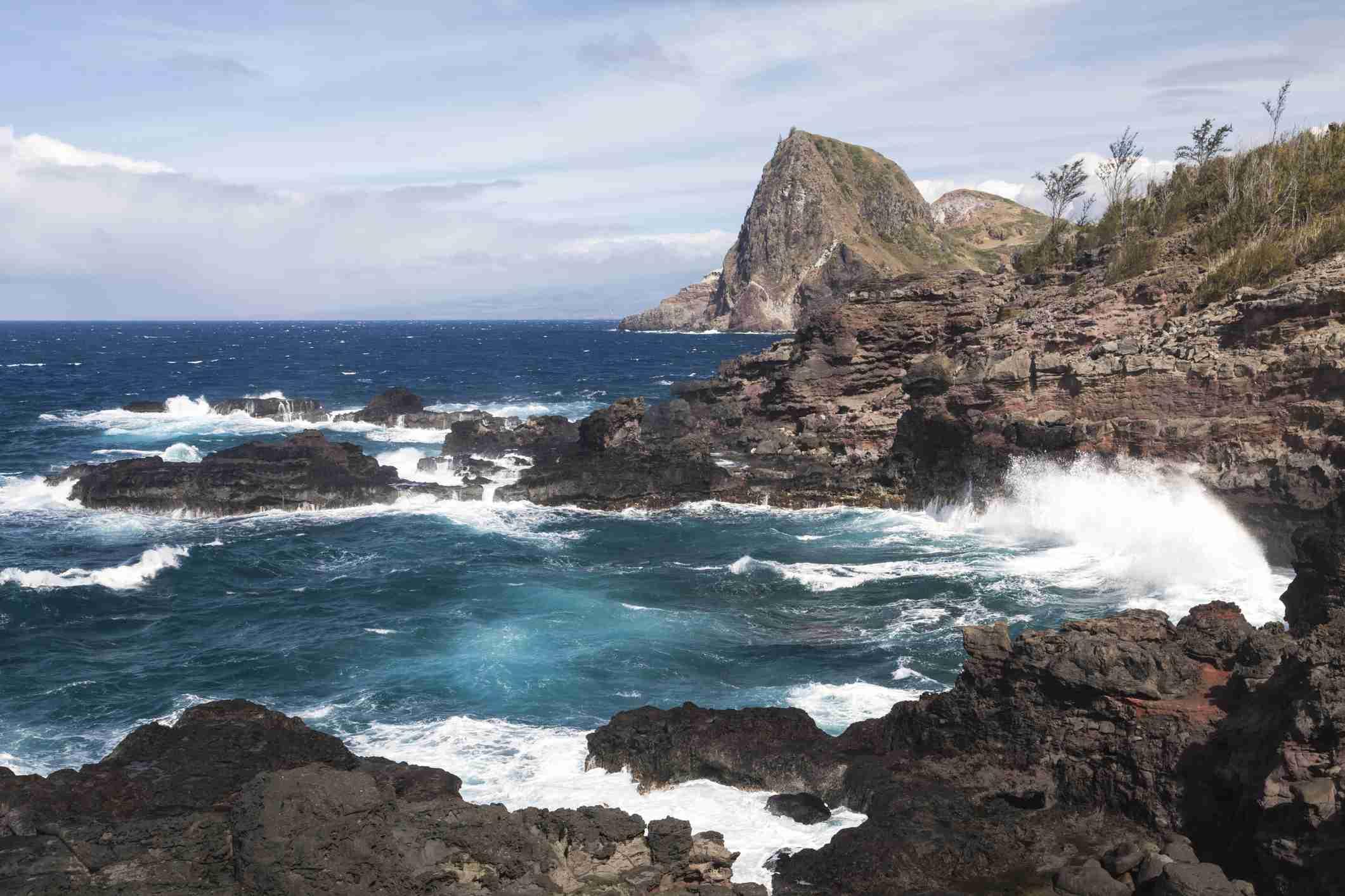Kahakuloa Head in Maui