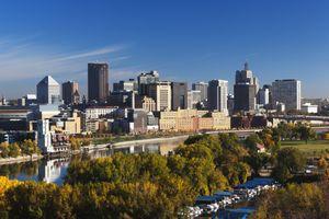 Minneapolis, St. Paul, Minnesota, City View