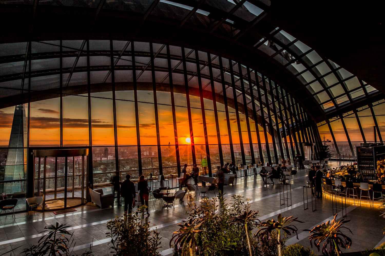 Image result for sky pod bar london