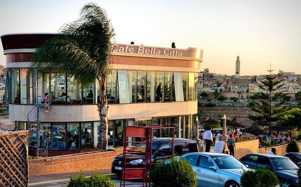 View of the two level La Bella Citta restaurant