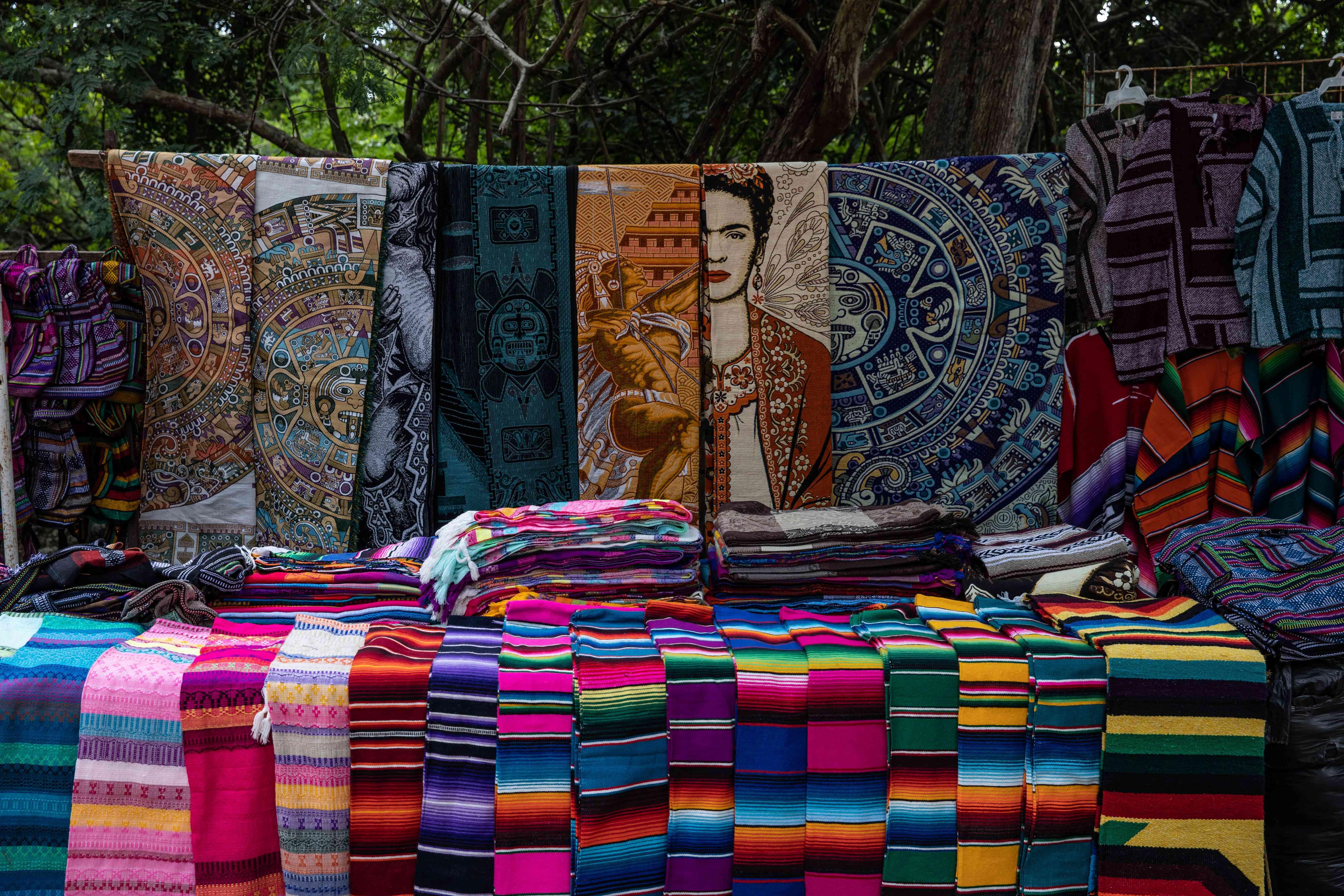 Handicraft souvenirs in Mexico